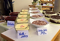 Präsentation Desserts